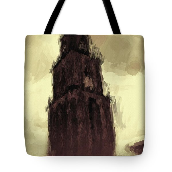 Wicked Tower Tote Bag by Ayse Deniz