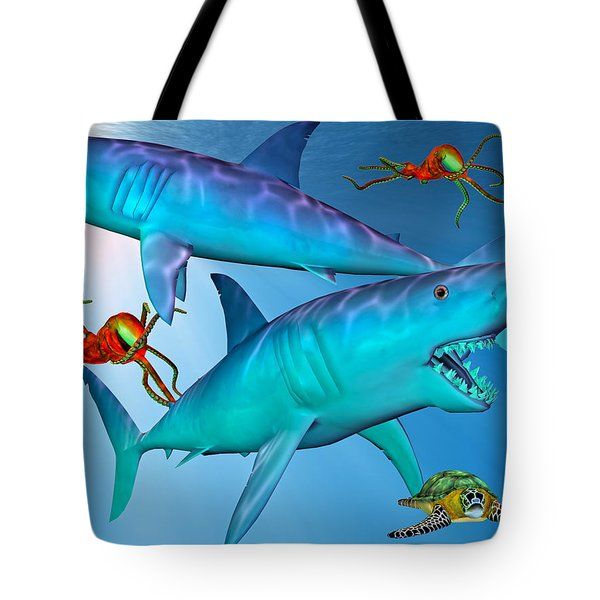 Widespread Panic Tote Bag by Betsy C  Knapp