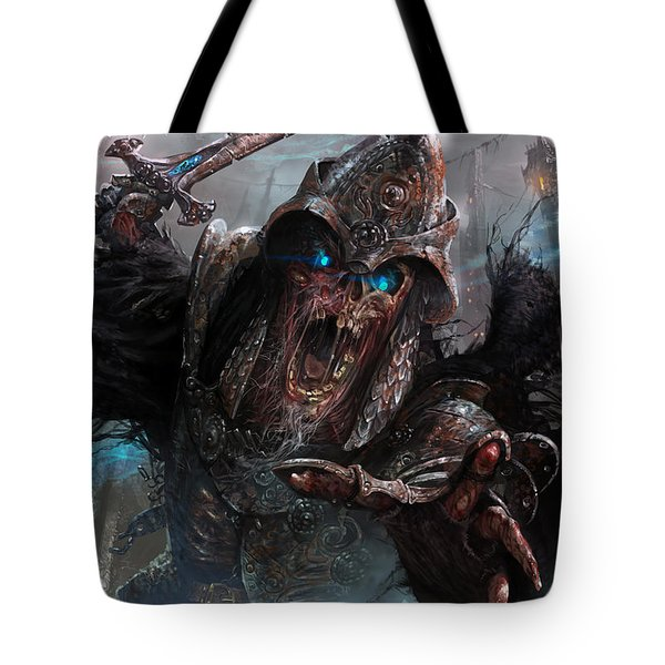 Wight Of Precinct Six Tote Bag by Ryan Barger
