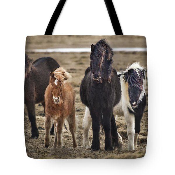 Wild And Free Tote Bag by Evelina Kremsdorf