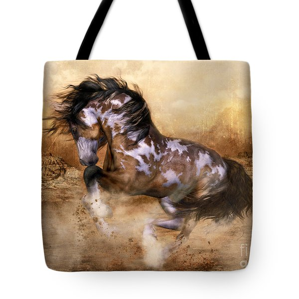 Wild And The Free Tote Bag by Shanina Conway