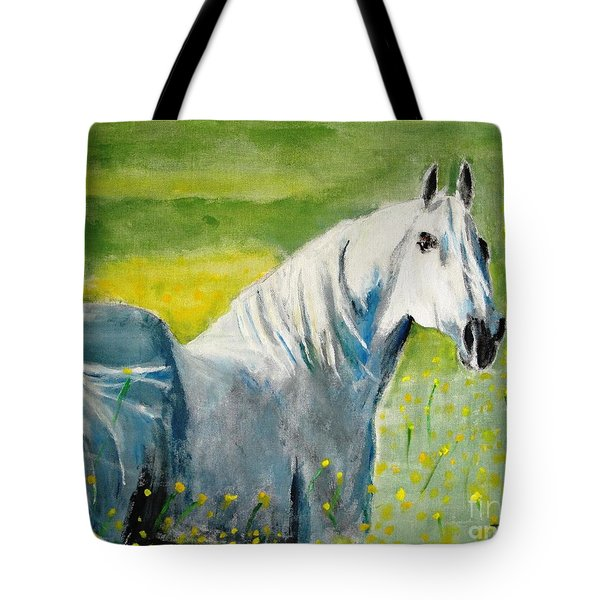 Wild As The Wind Tote Bag by Judy Kay