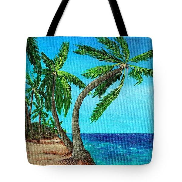 Wild Beach Tote Bag by Anastasiya Malakhova