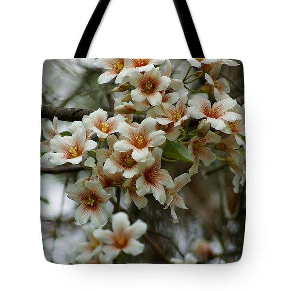 Wild Flowering Beauty Tote Bag by Kim Pate