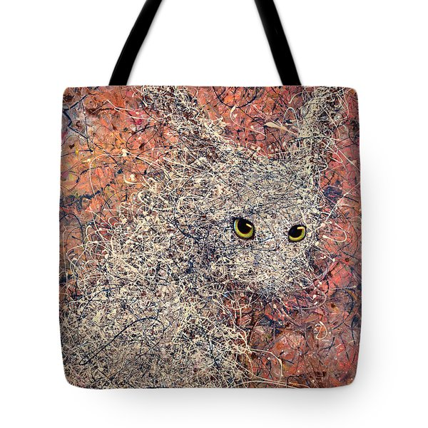 Wild Hare Tote Bag by James W Johnson