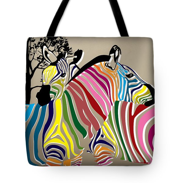Wild Love 2 Tote Bag by Mark Ashkenazi