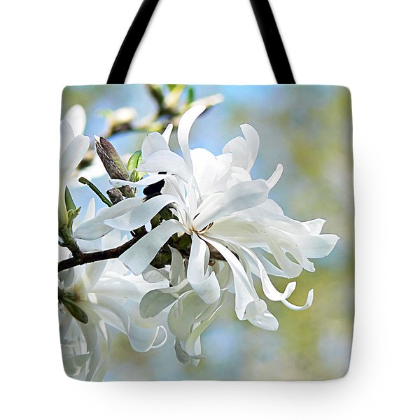 Wild Magnolia Blooms Tote Bag by Pamela Patch