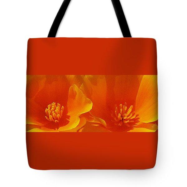 Wild Poppies Tote Bag by Ben and Raisa Gertsberg
