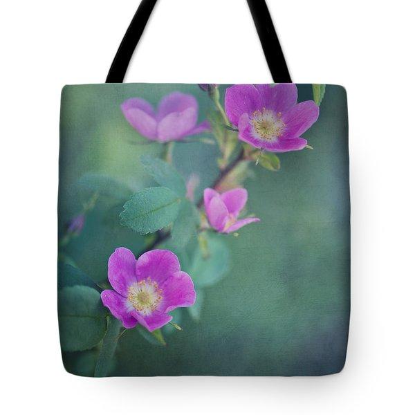 Wild Roses Tote Bag by Priska Wettstein
