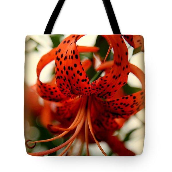 Wild Smokies Lily Tote Bag by Karen Wiles
