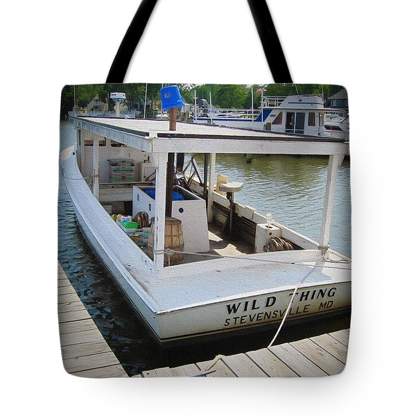 Wild Thing Tote Bag by Brian Wallace