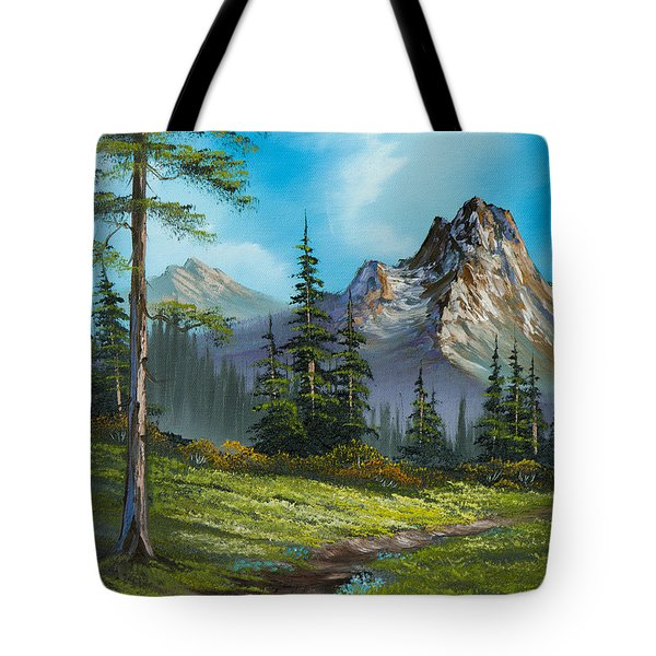 Wilderness Trail Tote Bag by C Steele