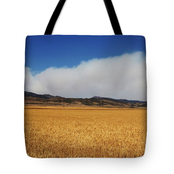 Wildfire Tote Bag by Jon Burch Photography