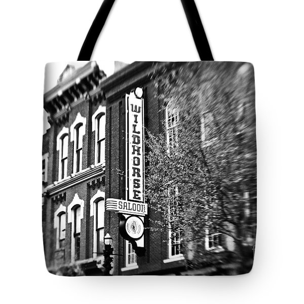 Wildhorse Saloon Tote Bag by Scott Pellegrin