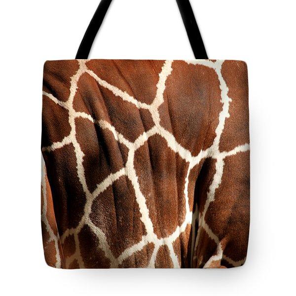 Wildlife Patterns  Tote Bag by Aidan Moran