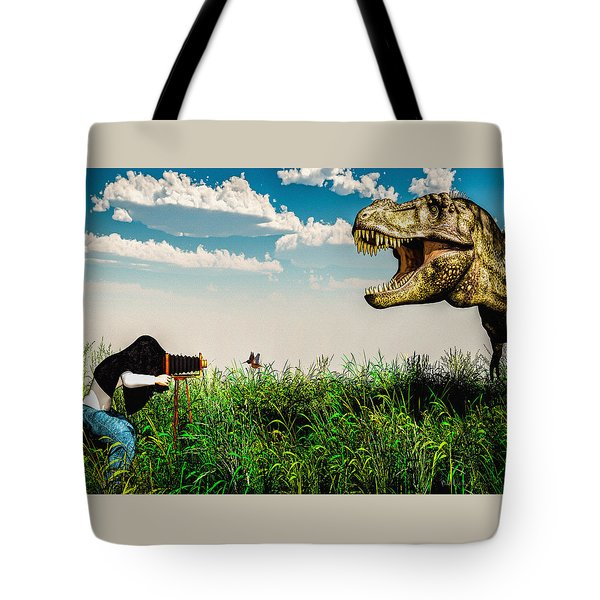 Wildlife Photographer  Tote Bag by Bob Orsillo
