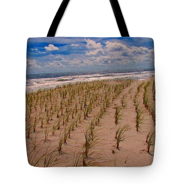 Wildwood Beach Breezes  Tote Bag by David Dehner