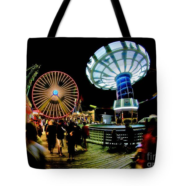 Wildwood is a Happy Place Tote Bag by Mark Miller