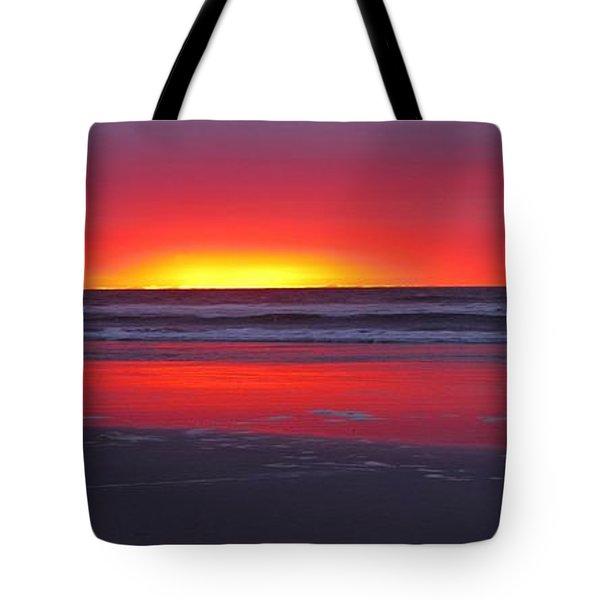 Wildwood Sunrise Dreaming Tote Bag by David Dehner