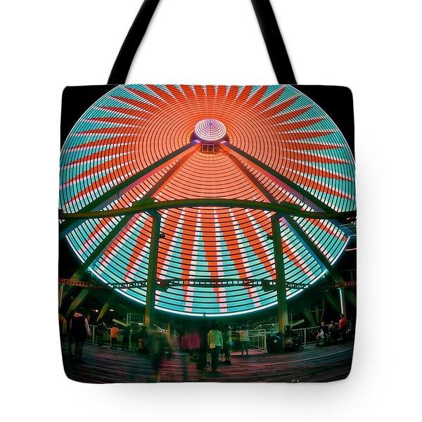 Wildwood's Giant Wheel Tote Bag by Mark Miller