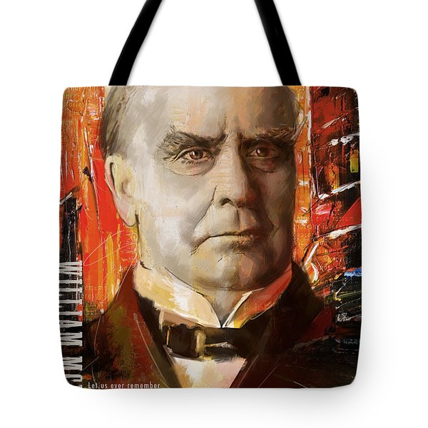 William McKinley Tote Bag by Corporate Art Task Force