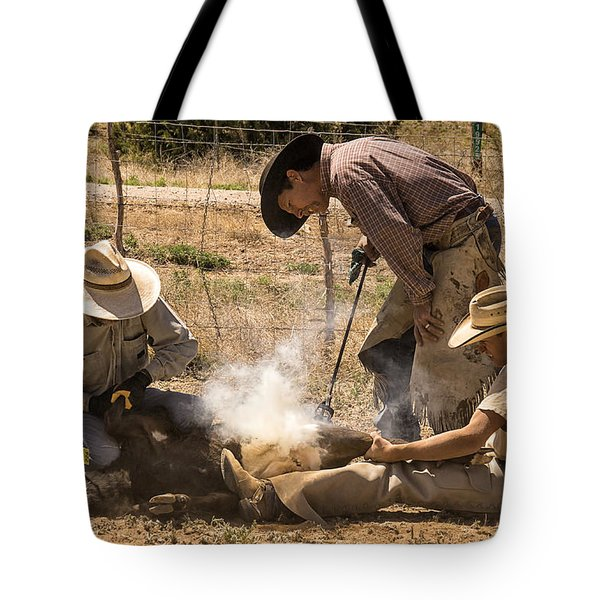 Williamson Valley Roundup 26 Tote Bag by Priscilla Burgers
