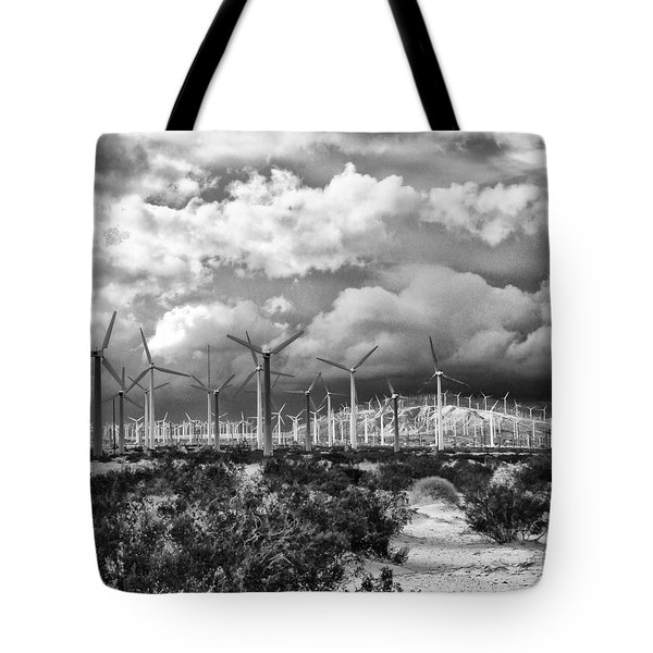 WIND DANCER Palm Springs Tote Bag by William Dey