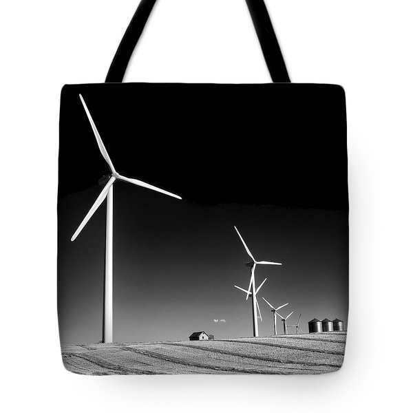 Wind Farm Tote Bag by Trever Miller