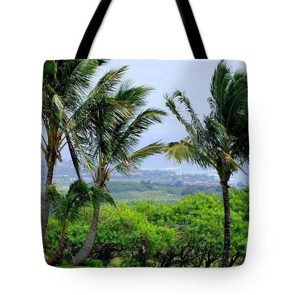 Wind Over Kalaheo Tote Bag by Mary Deal
