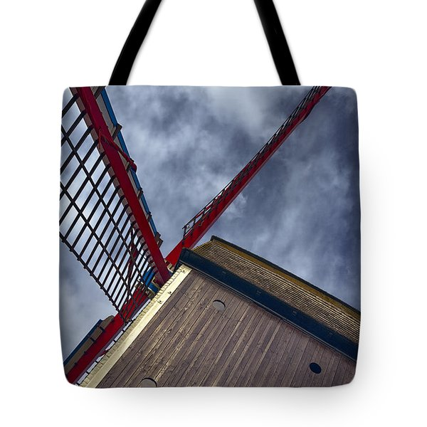 Wind Power Tote Bag by Joan Carroll