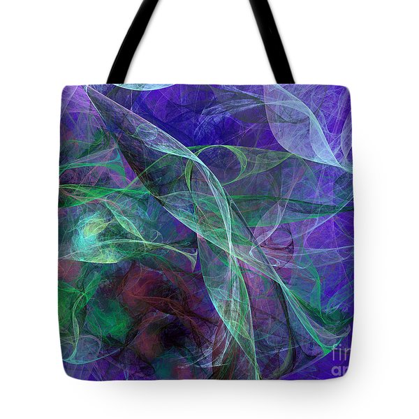 Wind Through The Lace Tote Bag by Andee Design