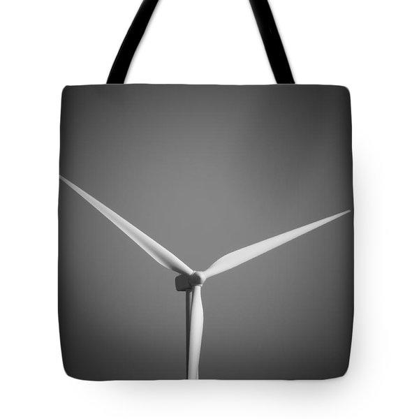 Wind Turbine Tote Bag by Wim Lanclus