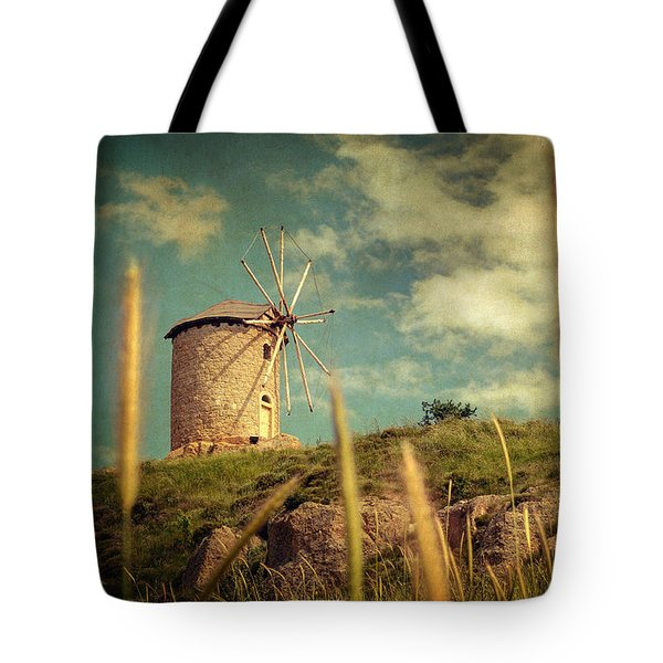 Windmill 14 48 Tote Bag by Taylan Soyturk