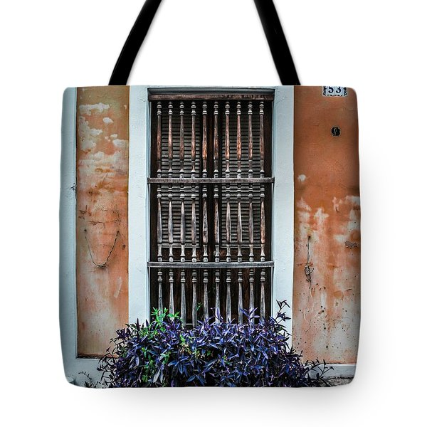 Window 53 Tote Bag by Perry Webster