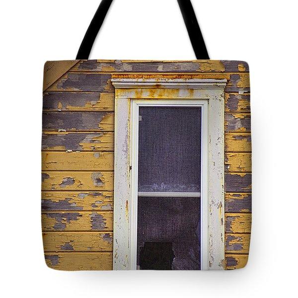Window In Abandoned House Tote Bag by Jill Battaglia