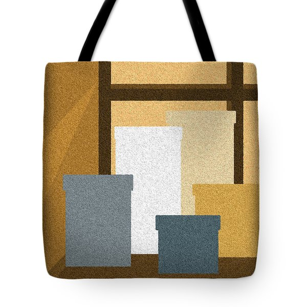 Window Light Tote Bag by Val Arie