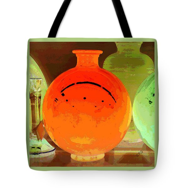 Window Shopping For Glass Tote Bag by Ben and Raisa Gertsberg