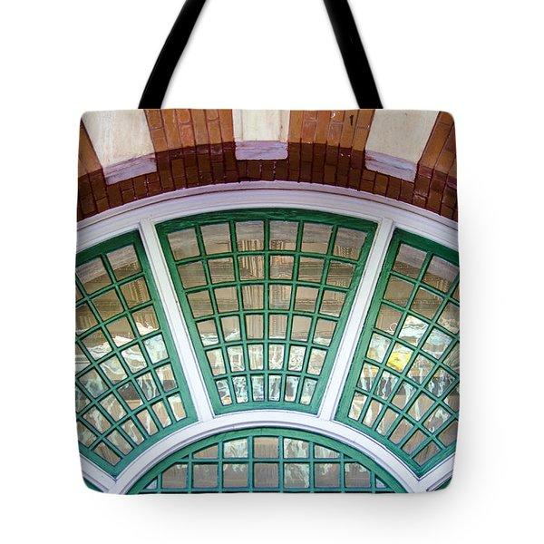 Windows Of Ybor Tote Bag by Carolyn Marshall