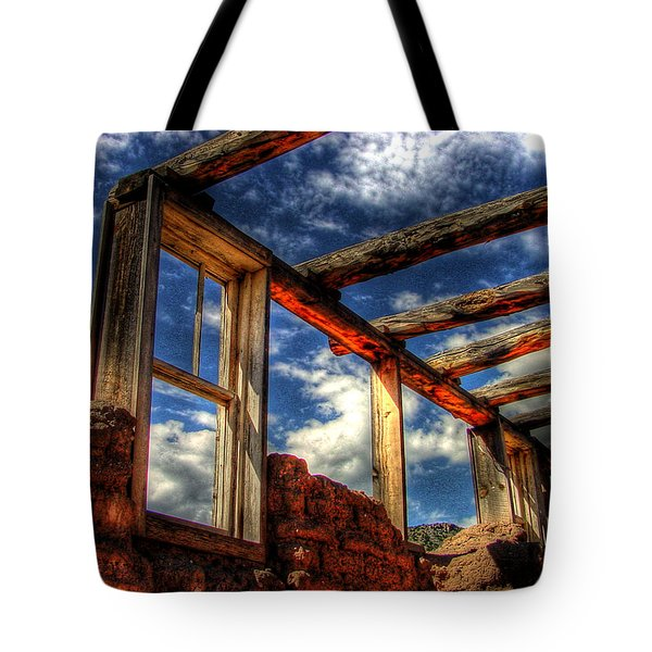 Windows To The Past Tote Bag by Timothy Bischoff