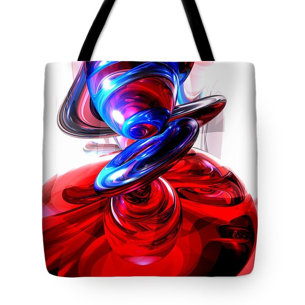Windstorm Abstract Tote Bag by Alexander Butler