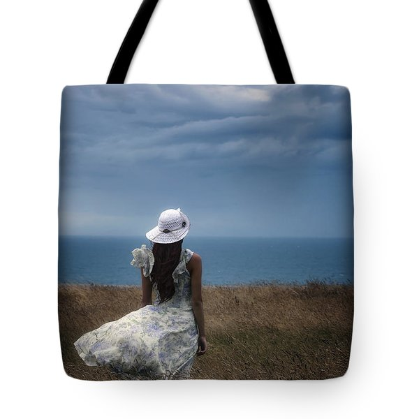 windy day Tote Bag by Joana Kruse