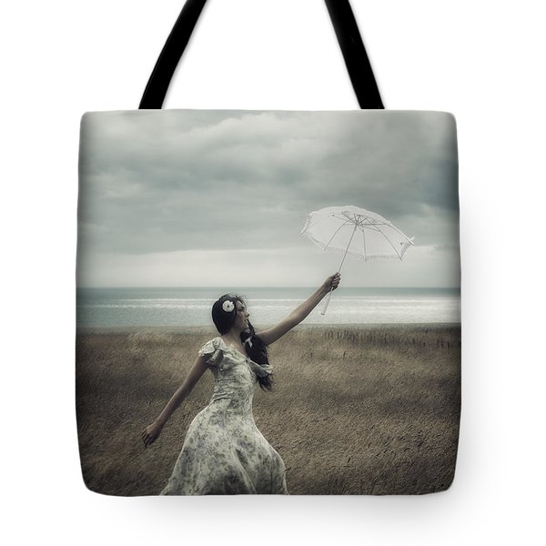 windy Tote Bag by Joana Kruse