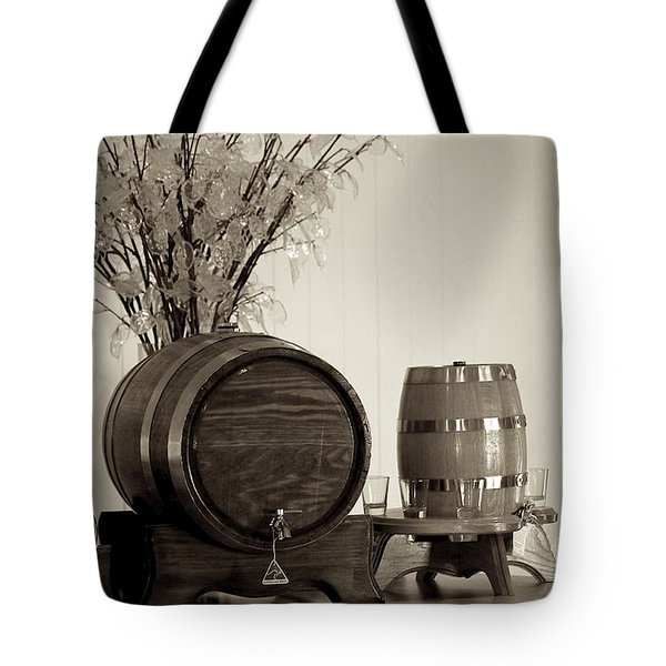 Wine Barrels Tote Bag by Alanna DPhoto