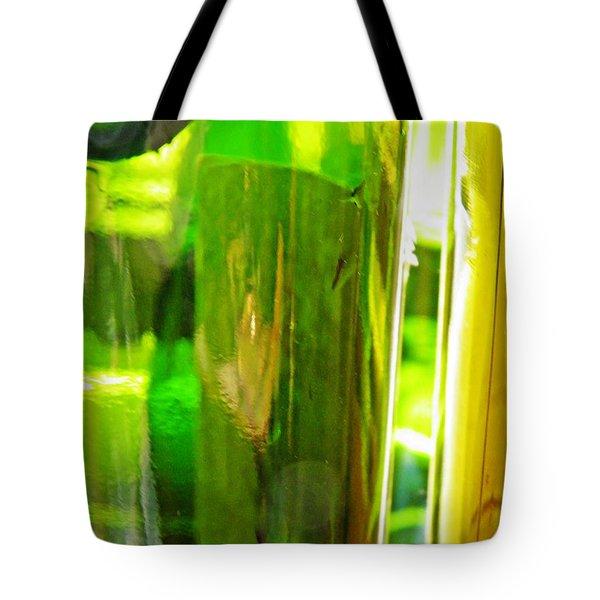 Wine Bottles 21 Tote Bag by Sarah Loft