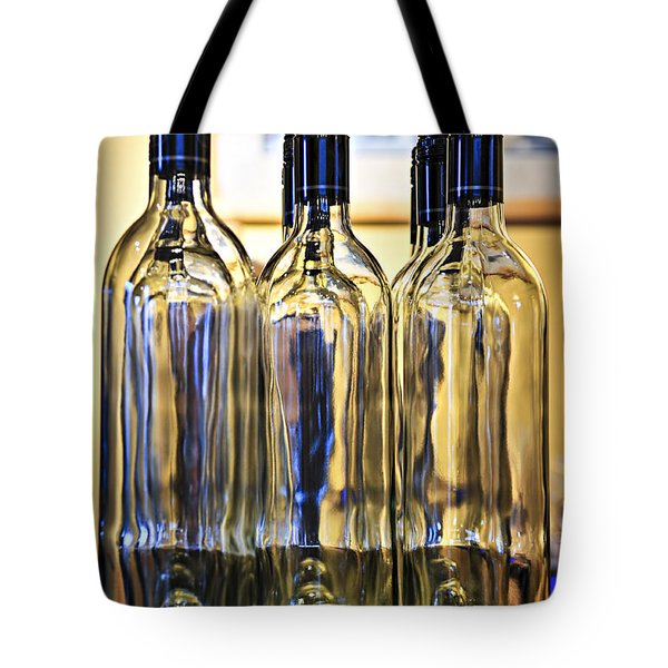 Wine bottles Tote Bag by Elena Elisseeva