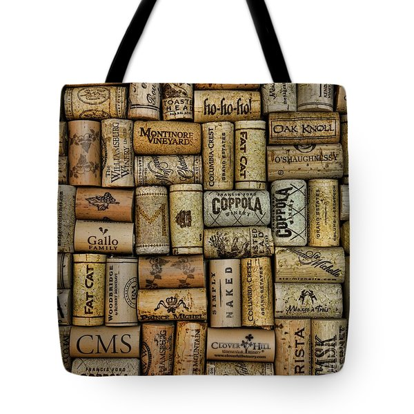 Wine Corks after the Wine Tasting Tote Bag by Paul Ward
