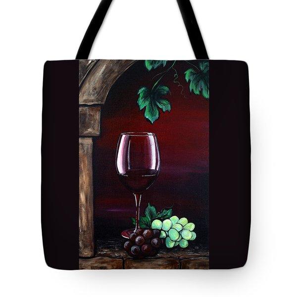 Red Wine Sunset Tote Bag by Dani Abbott