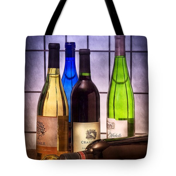Wines Tote Bag by Tom Mc Nemar