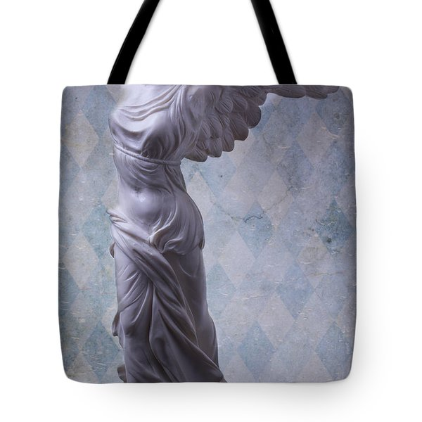 Winged Victory Tote Bag by Garry Gay
