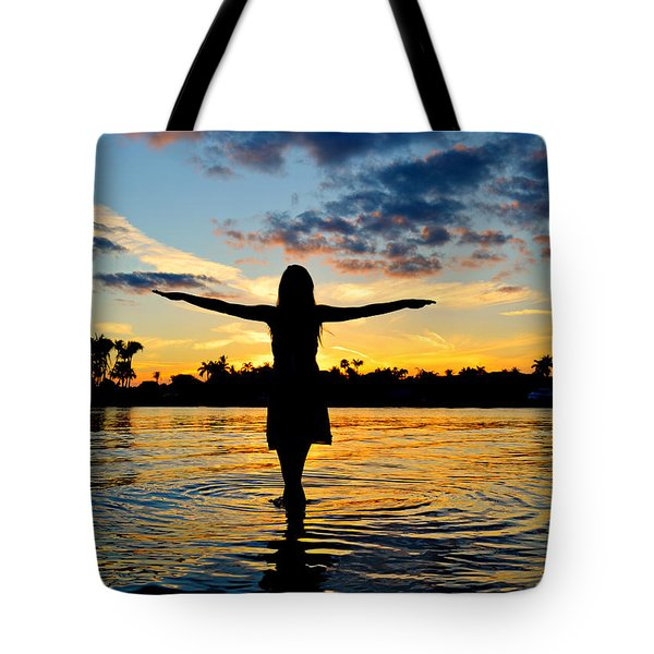 wings Tote Bag by Laura  Fasulo